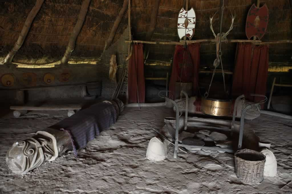 Inside a Celtic Roundhouse